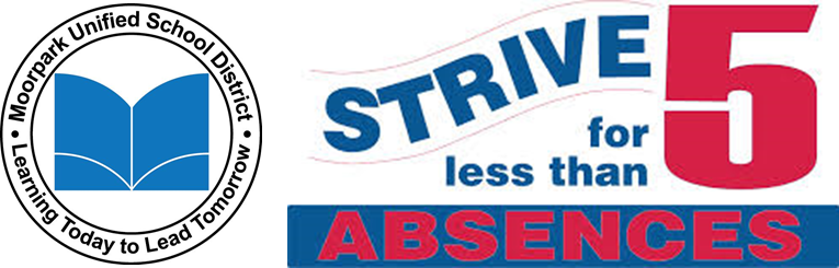 Strive for Less than 5 absences